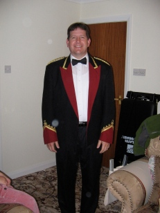 Bryan in Lindley Uniform