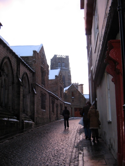 Durham approach to cathedral