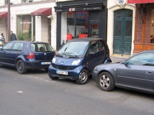 Paris parking