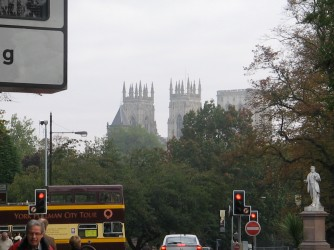 Minster from afar