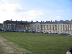"Royal Crescent ""The Grandest street in Britain"""