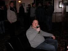 Last man drinking!