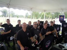 Atlantic Brass Band Cornet Section (minus Me as I'm conducting this show)