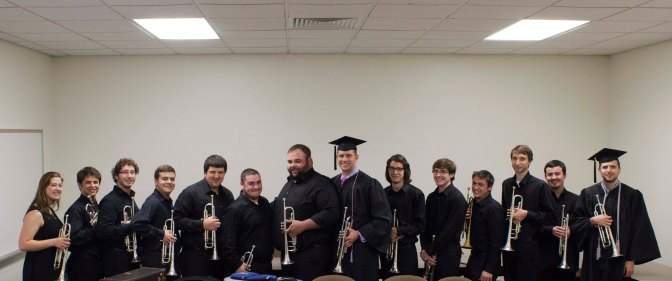 The Trumpet Ensemble at 2014 Commencement