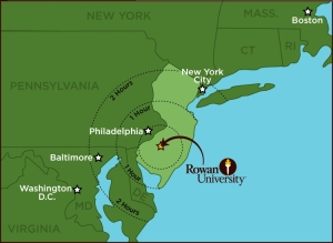 Regional Rowan Map