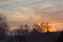 Sunset in Glassboro